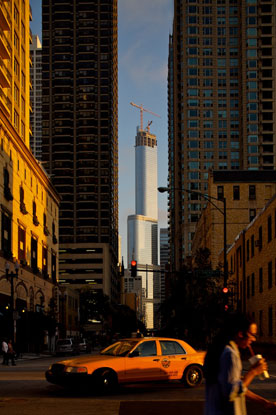 Trump Tower under construction - Chicago / Adrian Smith SOM Architects